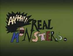 Aaahh!!! Real Monsters title card