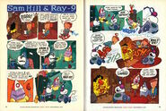 Nickelodeon Magazine comic Sam Hill and Ray-9 September 2001
