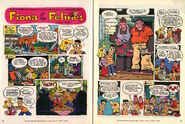 Nickelodeon Magazine Fiona of the Felines April 2000