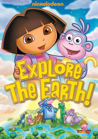 File:Dora the Explorer Explore the Earth DVD.jpg