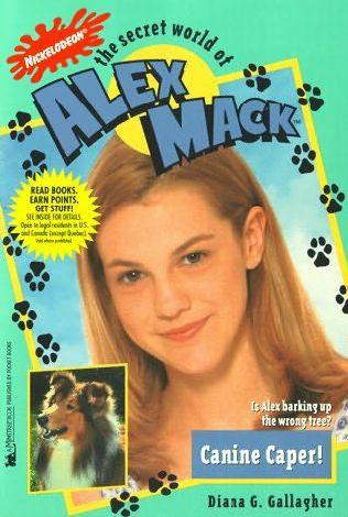File:The Secret World of Alex Mack Alex Canine Caper! Book.jpg