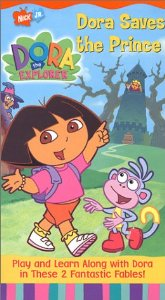File:Dora the Explorer Dora Saves the Prince VHS.jpg