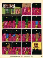 Nickelodeon Magazine comic June July 2002 Scene but not Heard