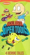 Nickelodeon SuperToons VHS