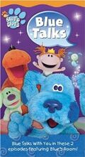 Blue's Clues Blue Talks VHS