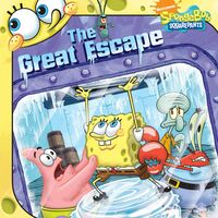 SpongeBob The Great Escape Book