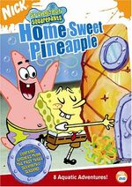 SpongeBob DVD - Home Sweet Pineaple