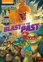 TMNT Half-Shell Heroes Blast to the Past DVD