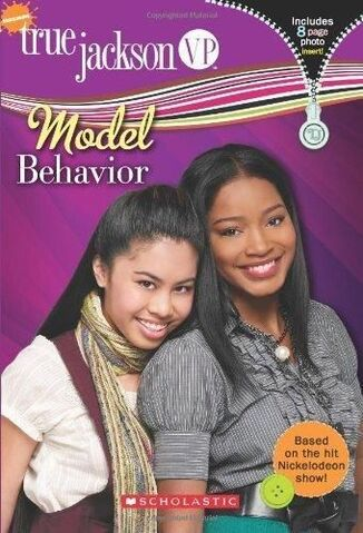 File:True Jackson VP Model Behavior Book.JPG