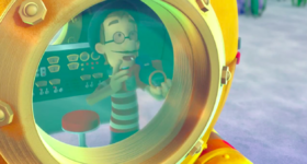 PAW Patrol Francois Turbot Diving Bell