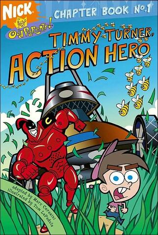 File:Fairly OddParents Timmy Turner Action Hero Book.jpg