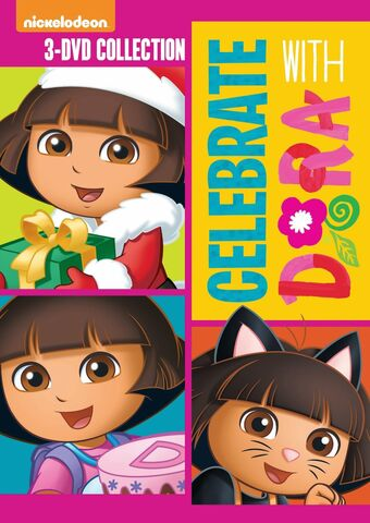 File:Dora the Explorer Celebrate With Dora 2014 Re-Release.jpg