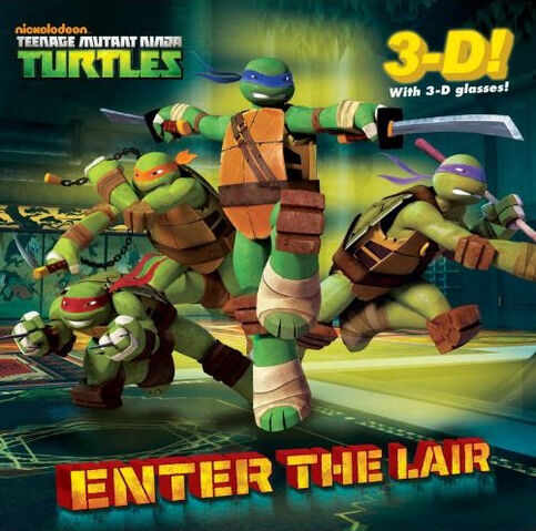 File:Teenage Mutant Ninja Turtles Enter the Lair Book.jpg