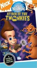 JimmyNeutron AttackOfTheTwonkies VHS