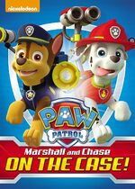 Paw Patrol Marshall and Chase On The Case