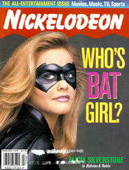 Nickelodeon Magazine cover june july 1997 alicia silverstone