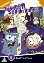 Nickelodeon Halloween Spooky Stories DVD