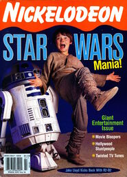 Nickelodeon magazine cover june july 1999 jake lloyd star wars