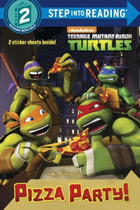 Teenage Mutant Ninja Turtles Pizza Party! Book