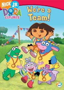 File:Dora the Explorer We're a Team DVD.jpg