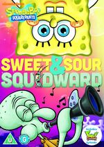 SB Sweet & Sour Squidward DVD UK