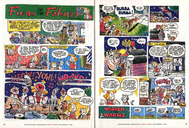File:Fiona of the Felines Nickelodeon Magazine comic December 1998 .jpg