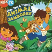 Diego Dora & Friends' Animal Jamboree CD