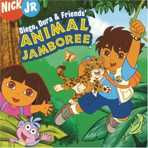 File:Diego Dora & Friends' Animal Jamboree CD.jpg