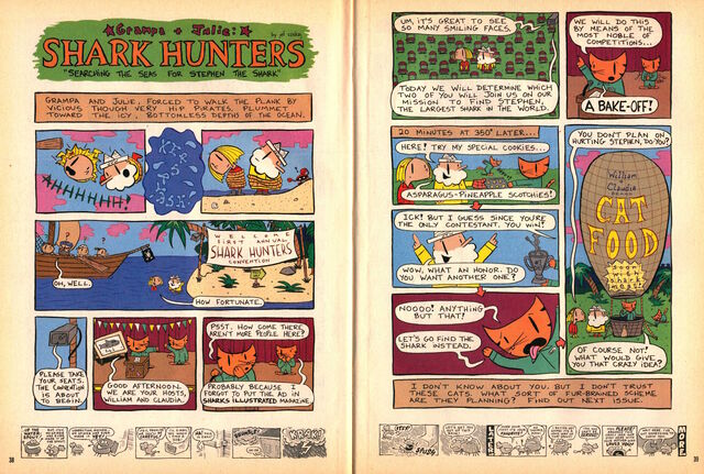 File:Nickelodeon Magazine Grampa Julie Shark Hunters August 2000.jpg