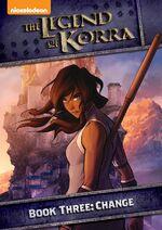 TheLegendOfKorra BookThree DVD