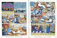 Nickelodeon Magazine comic Southern Fried Fugitives January February 1997