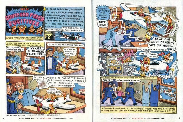 File:Nickelodeon Magazine comic Southern Fried Fugitives January February 1997.jpg