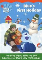 Blue's Clues Blue's First Holiday DVD