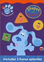 Blue's Clues Shapes And Colors! DVD