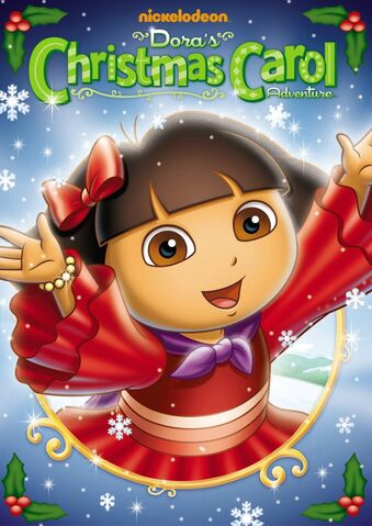 File:Dora the Explorer Dora's Christmas Carol Adventure DVD.jpg
