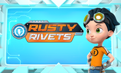 Rusty-Rivets-Character-Star-Cast-Member-With-Logo-Nickelodeon-Preschool-Nick-Jr-Facebook-Premiere-Debut-Promo