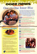 Nickelodeon Magazine Ooze News December 1998 Mystery Files of Shelby Woo interview