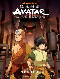 Avatar The Last Airbender The Rift Book