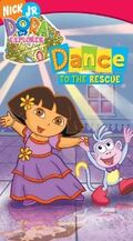 Dora the Explorer Dance to the Rescue VHS