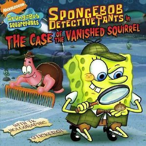 File:SpongeBob The Case of the Vanished Squirrel Book.JPG