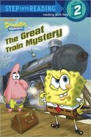 SpongeBob The Great Train Mystery Book