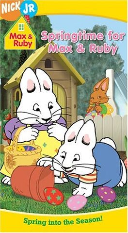 File:Max & Ruby Springtime For Max & Ruby VHS.jpg