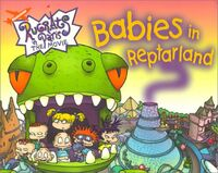 Rugrats Babies in Reptarland Book