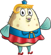 Mrs. Poppy Puff SpongeBob SquarePants Nickelodeon TV Series Character 3