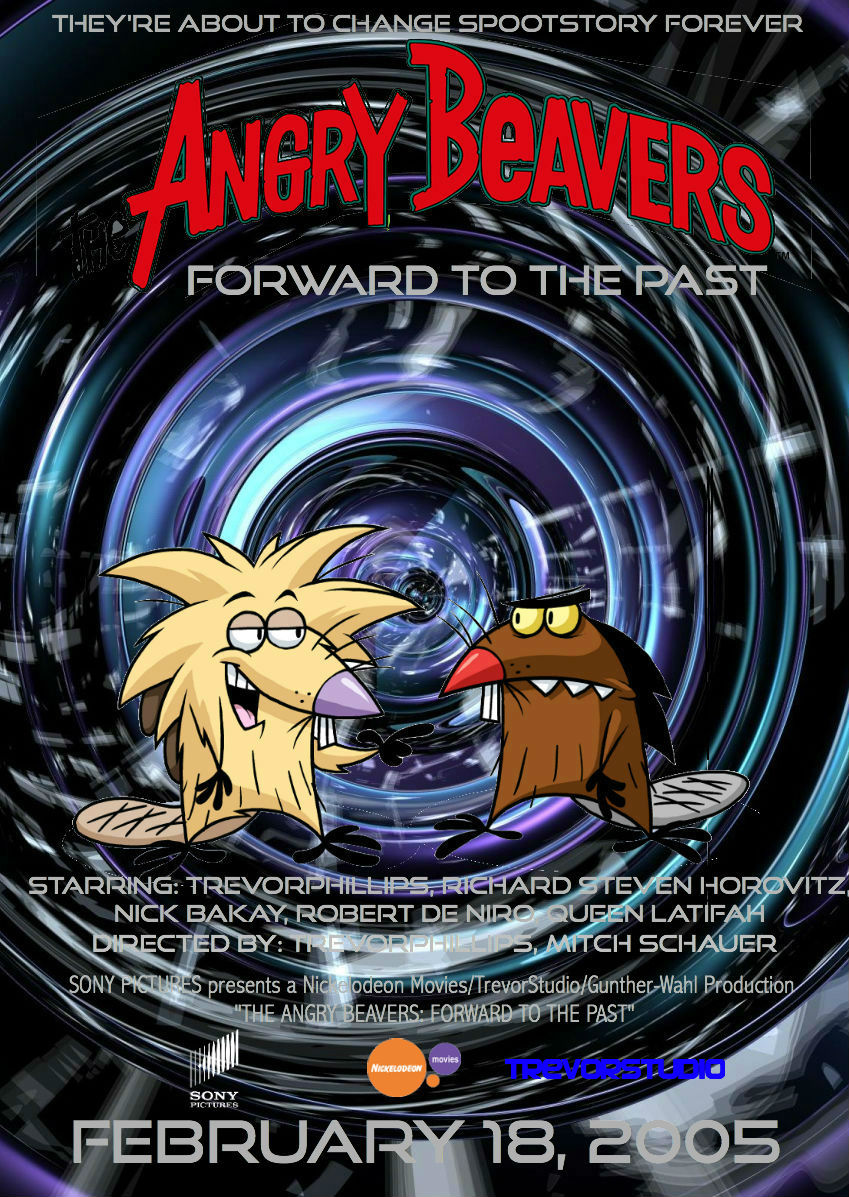 The Angry Beavers Forward To The Past Fiction Foundry