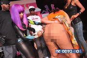Nicki Signing Behind Censored