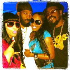 Nicki Minaj, Spragga, Foxy Brown, and Beenie Man!!!