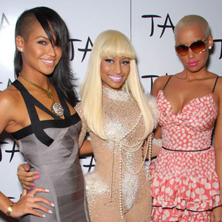 Cassie, Nicki and Amber Rose