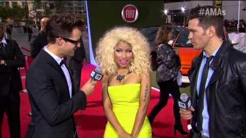 Nicki Minaj - Red Carpet Interview - AMA 2012