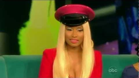 Nicki Minaj On The View 2012